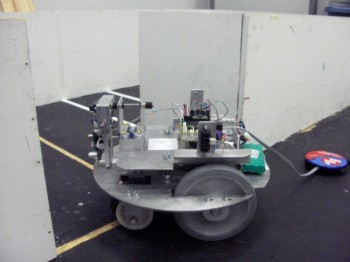 Our task was to improve upon the design for this mobile robotic platform.